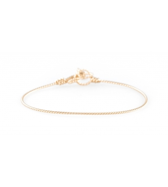 Original Nude Twisted Bracelet
