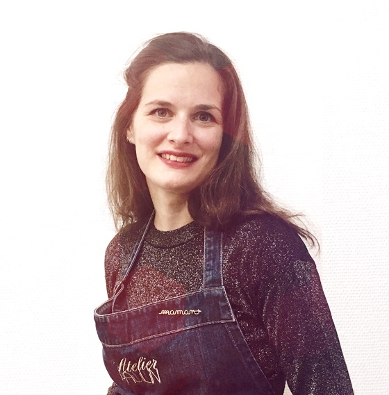 Meet the lovely Maïna one of our 15 artisans
